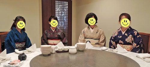 東京で着物ライフを楽しむ会 ~東京きものライフ~-中華円卓(2)