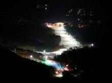 会津高原たかつえ|TAKATSUEスタッフブログ☆Takatsue's Back door-たかつえ山頂(ナイター照明)