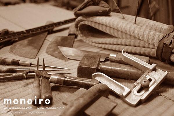 ハンドメイド・手作り作品ブログ *モノイロだより*-味わい感じる日本固有の敷物