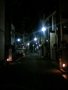 桂米紫のブログ-向日夜道.jpg