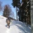 秋葉神社の雪下ろし2…