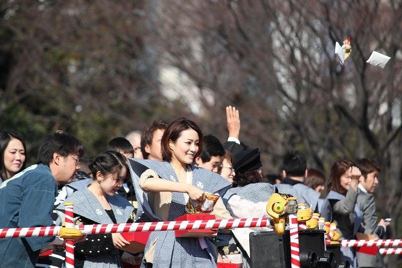 特選街情報 NX-Station Blog-増上寺 節分豆まき