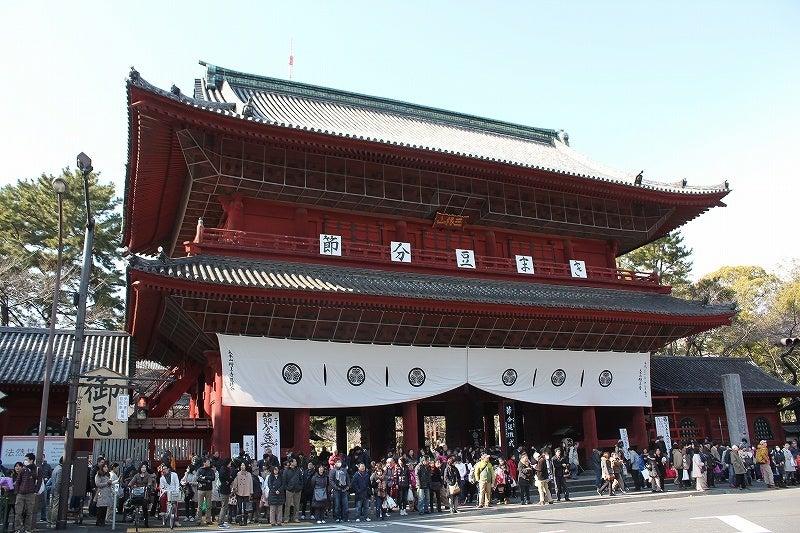 特選街情報 NX-Station Blog-増上寺 三門 節分豆まき