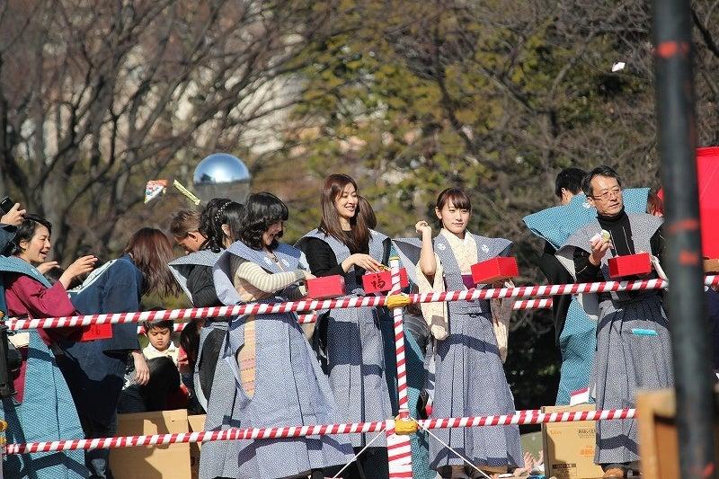 特選街情報 NX-Station Blog-増上寺 節分 豆まき