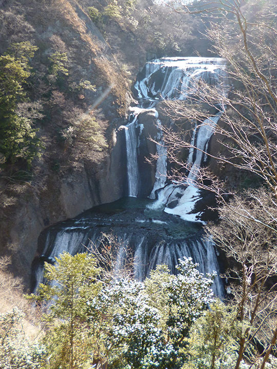 $ビッグスクーターのある生活-第二観瀑台からの景観
