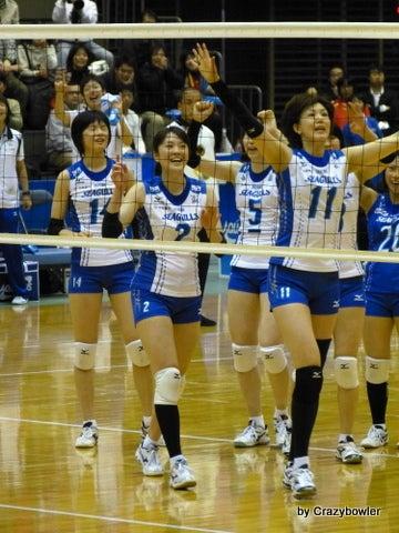 $生涯学習!by Crazybowler-Vプレミアリーグ2012/13 NECvs岡山(所沢)