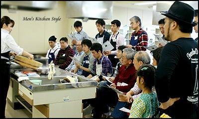 男の料理教室【メンズ・キッチン】メンズ・キッチンスタイリストYOKO(福本陽子)-話題の男子料理教室 メンズキッチン 男の恵方巻き
