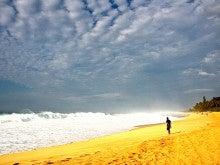 心とカラダが元気になる 「楽園サプリ」 by Moe Hawaii-冬のサンセットビーチ