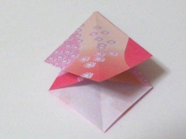 すべての折り紙 折り紙 天使 折り方 : 折り紙の天使……♪ 【折り方 ...