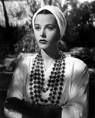 Time Tested Beauty Tips * Audrey Hepburn Forever *-ヘディ・ラマー Hedy Lamarr 被り物
