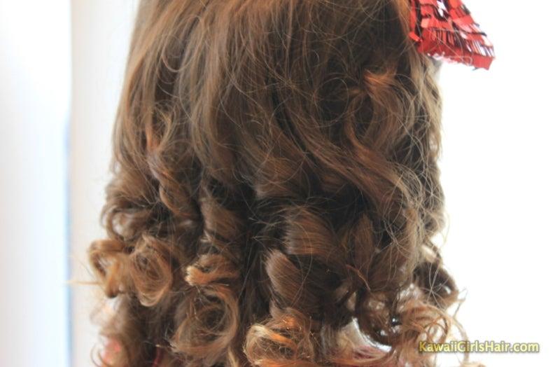 かんたん かわいい 女の子のヘアスタイル-アップ