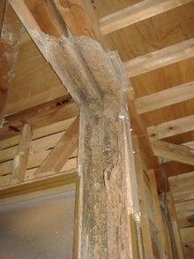 甘棠のブログ-昔の柱はこんなでした