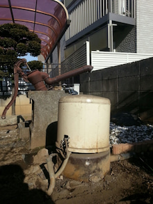 換気扇・レンジフードの専門店 街の設備屋24のブログ-井戸ポンプ交換工事