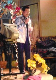 田山ひろし東京後援会のブログ-歌う田山ひろし1