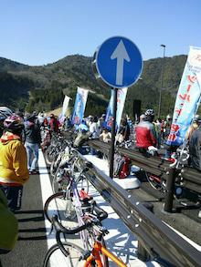 GreenCycleのブログ -自転車は摩荷車!!--ツールド佐伯、蒲江インターチェンジ