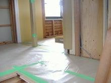 甘棠のブログ-2階の床