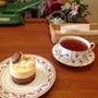 生姜とチョコのケーキ
