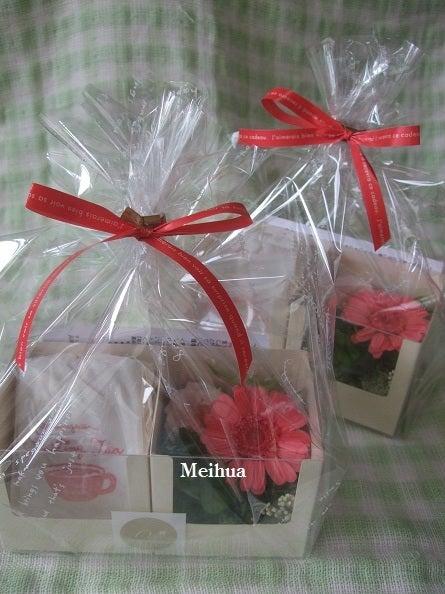 *Hana*かけら・・・神戸のプリザーブドフラワー・フラワーギフト専門店Meihua-紅茶セット