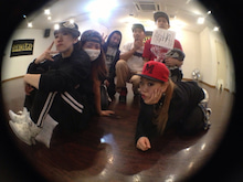 KIMIの日記-AISHA back dancers
