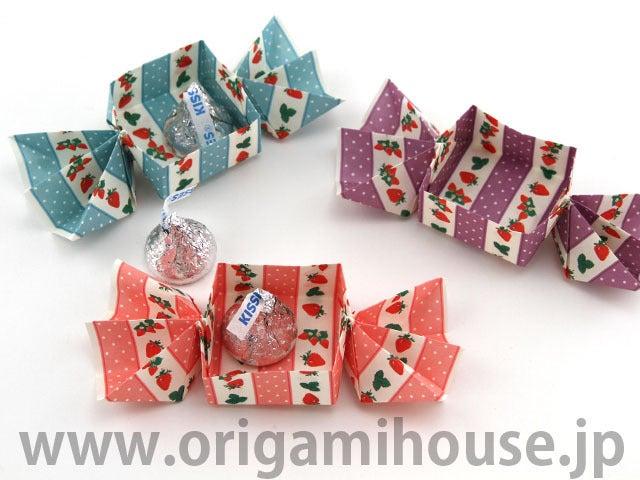 ハート 折り紙 : 折り紙 キャンディボックス : hagifood.com