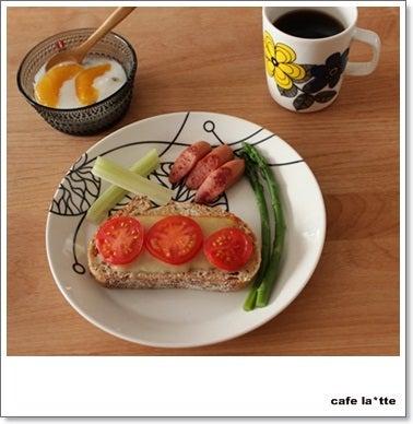 cafe la*tte-チーズトースト