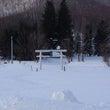 冬の上白滝神社