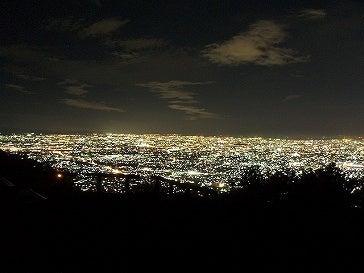 ルナシャイン・輝☆ブログ-生駒夜景