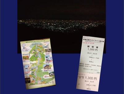 ルナシャイン・輝☆ブログ-信貴生駒スカイライン