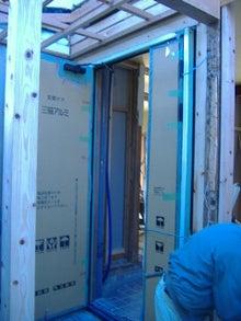 甘棠のブログ-玄関ドア