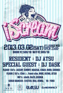 $DJ DASK Blog-2013.2 i Scream 1
