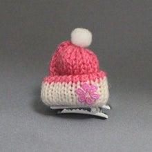 モルモットのニット帽(ピンク)
