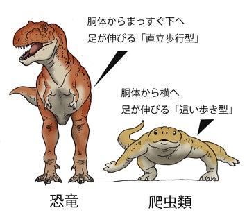 川崎悟司 オフィシャルブログ 古世界の住人 Powered by Ameba-恐竜と爬虫類の足の付き方