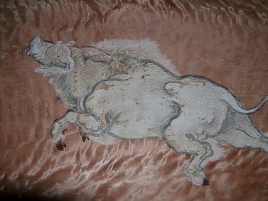 愛宕山-絵馬の猪