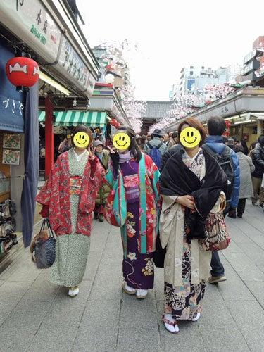 $東京で着物ライフを楽しむ会 ~東京きものライフ~-仲見世ぶらり