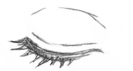 目を細める・・・笑う・憧れ ... : 簡単お絵描き : すべての講義