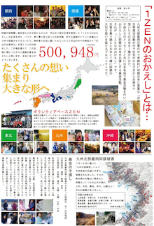 1zenのおかえし(九州北部豪雨災害の阿蘇市へお気持ちお届け)