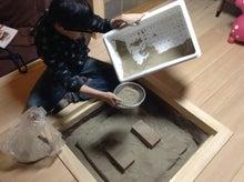 京町家を買って改修する男のblog-囲炉裏自主施工