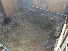 京町家を買って改修する男のblog-庭
