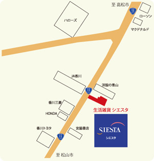 雑貨屋siesta店長のBlog-map1-300