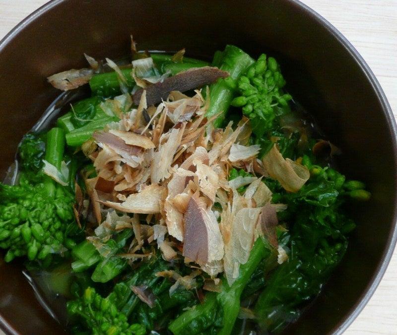 一日一品江戸料理-菜の花煮浸しー2