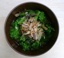 一日一品江戸料理-菜の花煮浸しー1