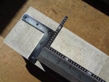 楽園管理人アツシの絵日記-鉄板焼き台の溶接