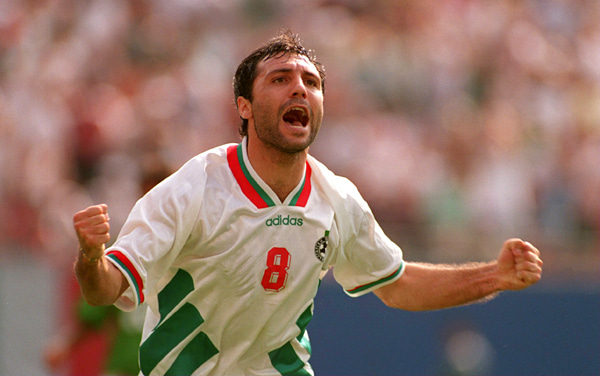 ブルガリア代表 ストイチコフ