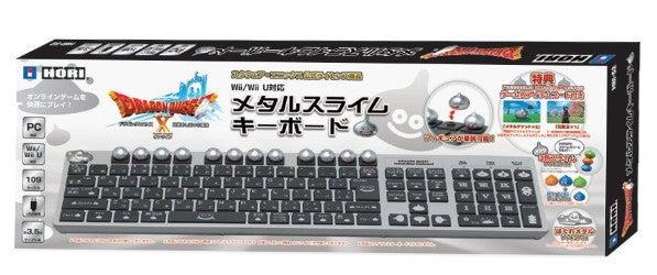 【Wii U/Wii】ドラゴンクエスト メタルスライムキーボード (PCにも対応)(アイテムコード同梱)