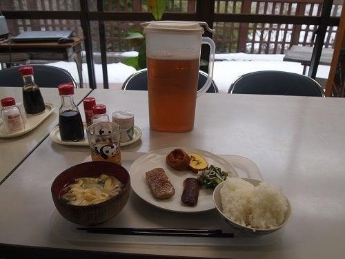 長野県上松技術専門校 木工ブログ2012-朝ごはん