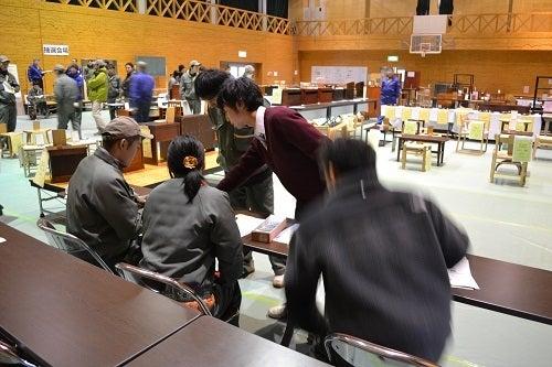 長野県上松技術専門校 木工ブログ2012-会計リハーサル