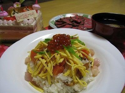 Rico*Style~お気に入りに囲まれて~-ちらし寿司