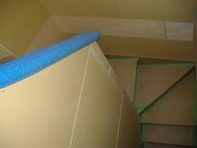 甘棠のブログ-階段、見下ろし
