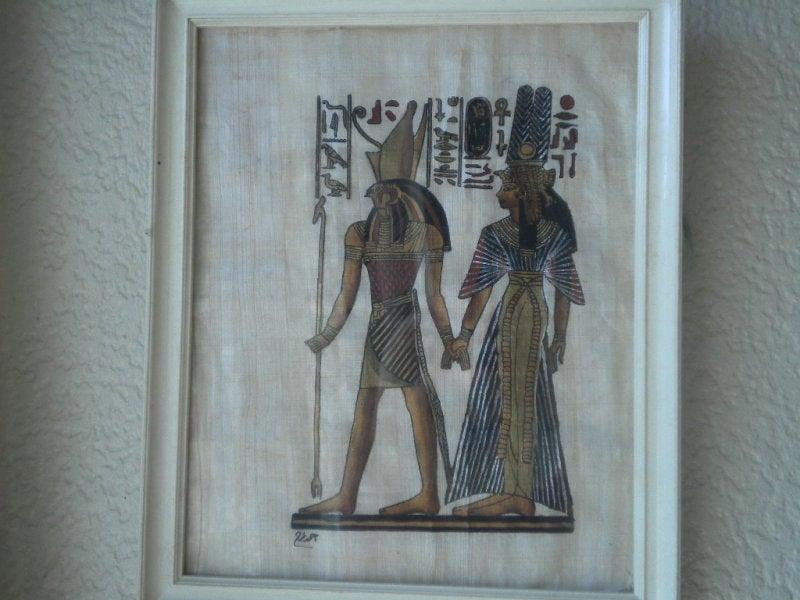 岐阜なでしこのなでしこらしい日記-エジプト絵
