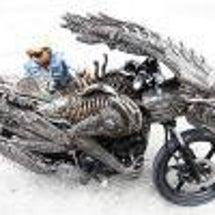 タイのバイクは芸術品…